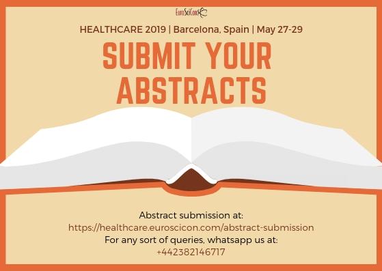 Euroscion 2019 International conference on healthcare
