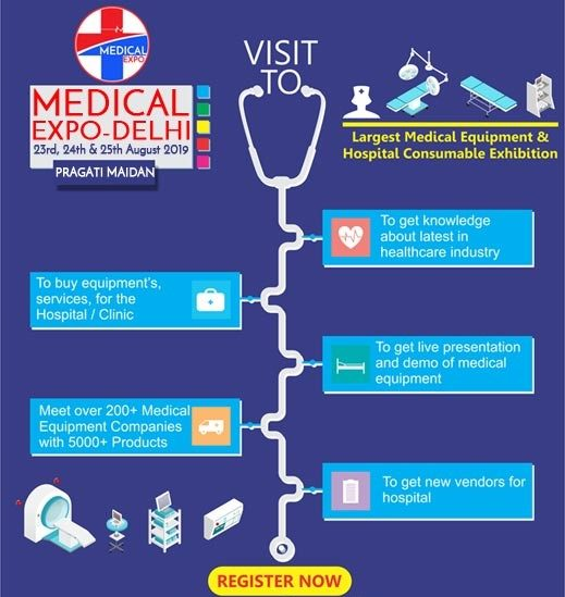 Visit Medical Expo Delhi 2019 for Your Hospital Needs - Biomall Blog